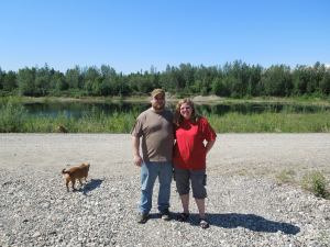 My amazing Alaskan hosts.  Thanks again, Marek, Lori, and Dustin (not pictured).